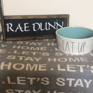 Rae Dunn Extra Large Dog Bowl